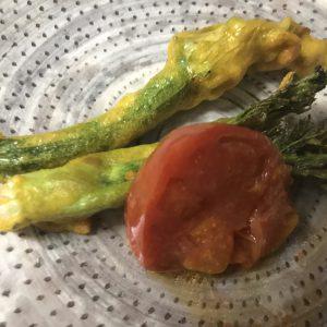 夜のコース料理