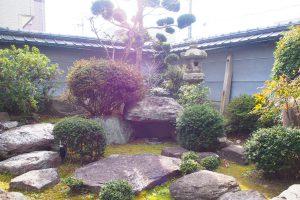 茶倉 日本庭園